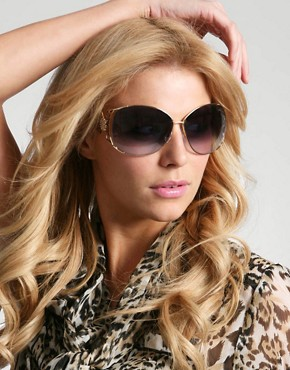 Roberto Cavalli | at ASOS :  by roberto cavalli gold effect frame sunglasses