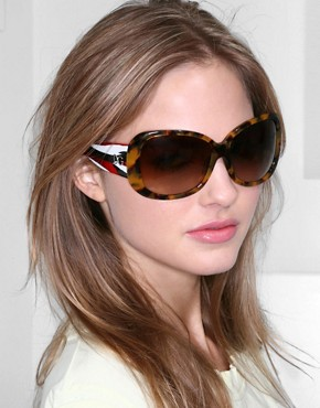 Dolce & Gabbana | Dolce & Gabbana Contrast Sunglasses at ASOS :  asos dg sunglasses