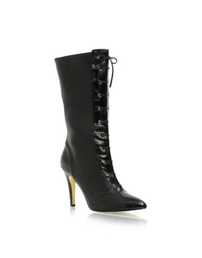 J Lo | J LO Lace Front Mid Length Boots at ASOS :  j lo mid at