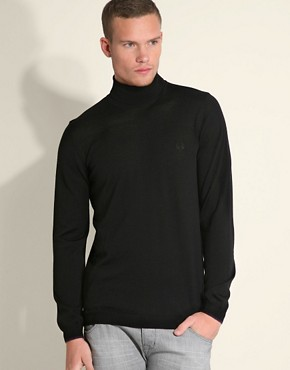 Fred Perry Fine Gauge Roll Neck Jumper