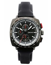 DKNY Black Face Sporty Dial Watch