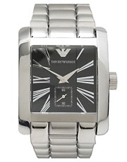 Emporio Armani Black Dial Bracelet Watch