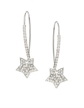 ASOS | ASOS Stone Encrusted Star Drop Earrings at ASOS :  star drop asos at