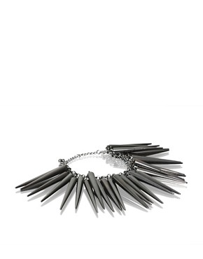 ASOS | ASOS Elongated Multi Spike Drop Bracelet at ASOS :  asos bracelet