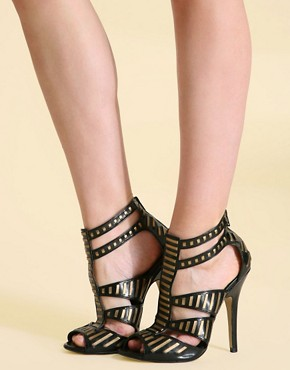 ASOS PETRA Heeled Gladiator Sandal :  sandal gladiator shoes stiletto heels