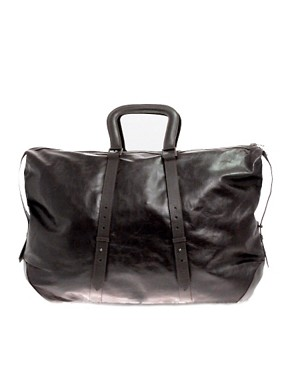 Chris &#038; Tibor for Juun J Leather Reversible Holdall