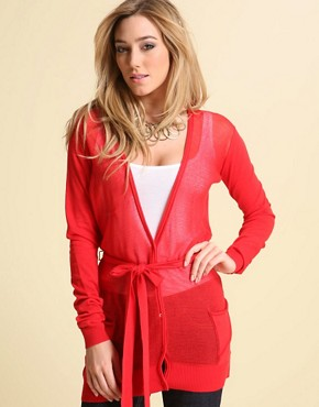 Ted Baker Drape Belted Cardigan at ASOS from asos.com
