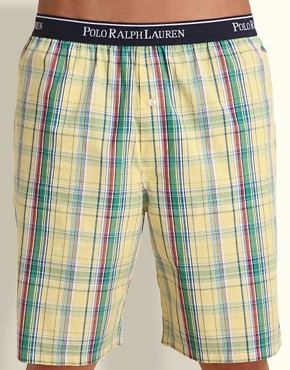 Polo Ralph Lauren Bailey Plaid Woven Lounge Short