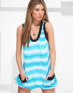 Marc Jacobs :  striped spring summer dress women