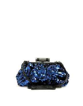 Fiorelli Metallic Sequin Clutch and Shoulder Bag :  nye bags clutch new years eve