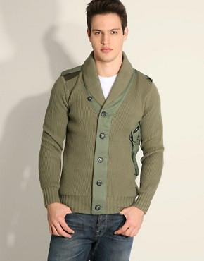 G-Star Major Chunky Cardigan