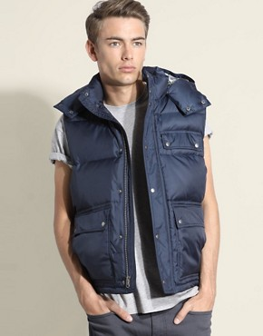 Gap Hooded Puffer Vest