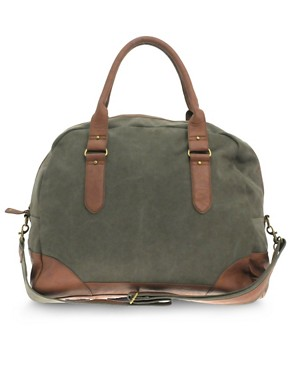ASOS Canvas Holdall