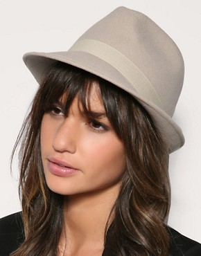 Reiss Medoc Trilby Hat :  hat reiss felt womens