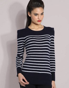 Reiss | Reiss Skye Stripe Jumper at ASOS :  stripey jumper reiss jumper asos