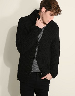 Cold Method Chunky Toggle Cardigan