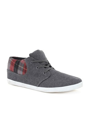 ASOS Grey Cuff Chukka Boots