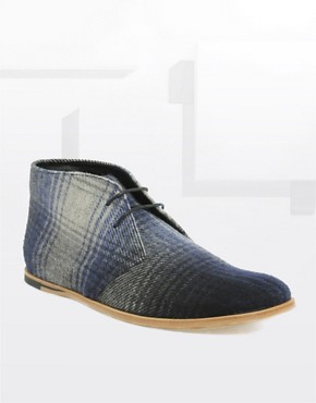 Opening Ceremony Plaid Wool Chukka Boot