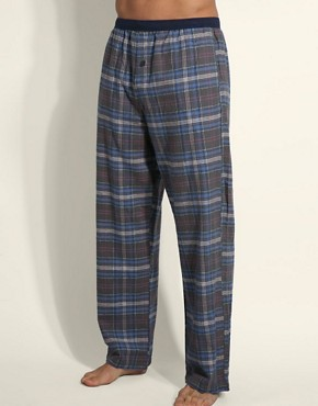 Calvin Klein Check Flannel Lounge Pants