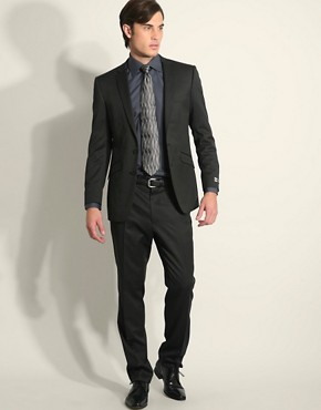 Simon Carter Westend Pinstripe Slim Fit Suit