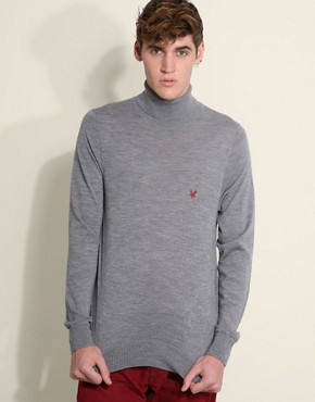 Lyle &#038; Scott Heritage Merino Roll Neck Jumper
