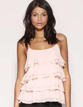 ASOS | ASOS Tiered Ruffle Camisole Top at ASOS