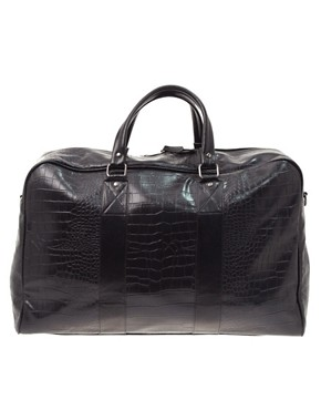 ASOS Croc-Look Holdall
