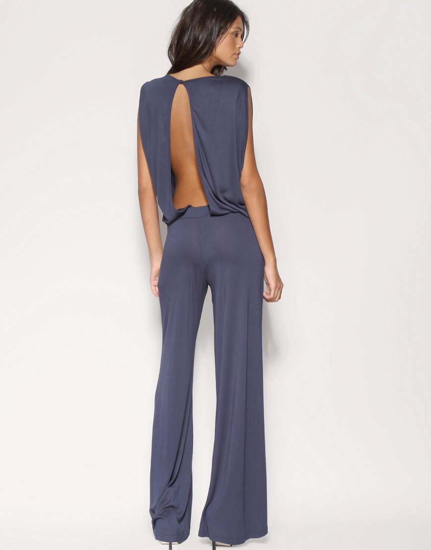 ASOS | ASOS Knot Shoulder Jumpsuit at ASOS