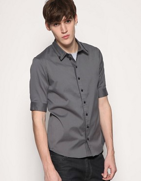 Villain Hoxton Fold Collar Shirt