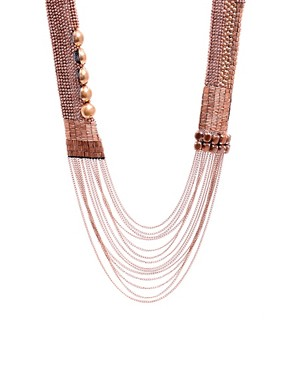 Fiona Paxton Copper Sofi Long Necklace Image